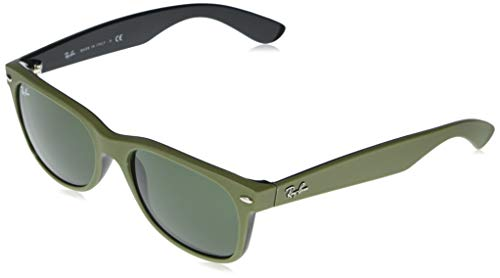 Ray-Ban UV protected Square Unisex Sunglasses (0RB2132|54.8 mm|Green)