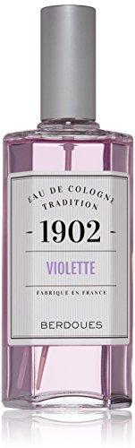 Berdoues Eau de Cologne Spray, Violette, 4.2 Fl Oz