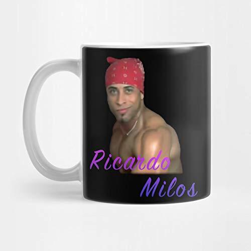 Llynice Taza de café Atractiva del bailarín de Ricardo Milos Meme