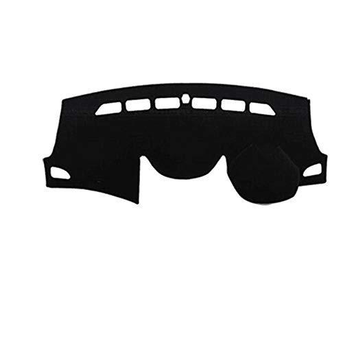 gipoiSD Cubierta para salpicadero de Coche con Volante a la Derecha, Alfombrilla para salpicadero, Alfombrilla para salpicadero Anti-UV, para Hyundai Elantra Avante 2011-2013 2014 2015