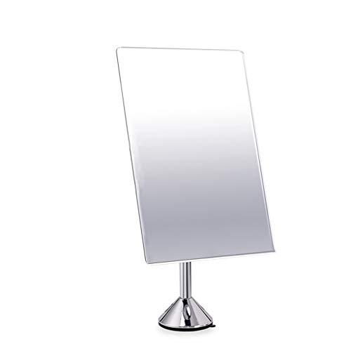 NJYT Miroir de Courtoisie,Ventouse Rotation de 360 Degrés Mural Clair et Transparent Miroir de Maquillage pour Salle de Bain et Voyage (taille : B)