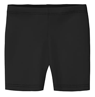 City Threads Big Girls Underwear Bike Shorts in All Cotton Perfect for SPD and Sensitive Skin Sports Dance School Uniform, Black 10