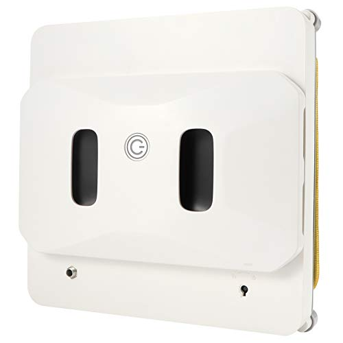 Fensterreiniger-Roboter, dünner intelligenter Staubsauger Automatische Glasreinigungsroboter Fenster-Roboter-Staubsauger für Außen-/Innenfenster, Fliesen, Decke, Badezimmer (weiß)(ich)