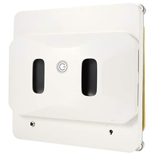 Robot limpiador de ventanas, aspiradora inteligente delgada con control remoto, robot de limpieza automática de vidrio, aspiradora robótica para ventanas para ventanas exteriores/interiores(yo)