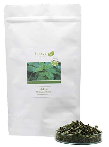 Melissentee | Wunderbar zitronig-frisches Aroma | Zitronenmelisse Melisse Tee lose | 75g | Hildegard von Bingen