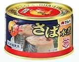 マルハニチロ さば水煮月花(プルトップ缶) 24入