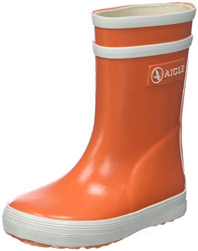 Aigle Unisex-Kinder Baby Flac Gummistiefel, Orange (VERMILLON), 21 EU