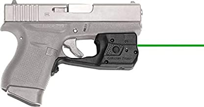 Crimson Trace Glock 42 & 43 Laserguard with Tactical Light and Laser Sight options, Green or Red Laser