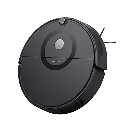 Roborock E5 Robot Vacuum Cleaner, Wi-Fi Connected Robotic Vacuum Cleaner, 2500Pa Strong Suction, Self-Charging, APP Total Control, Carpet Boost, Ideal for Large Homes with Pets, Compatible with Alexa