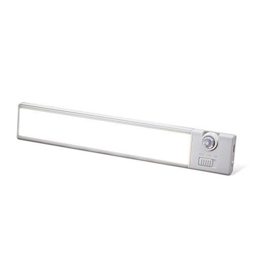 Sensor Brite Slim Beam+ Magnetic Under Cabinet Light, Motion Sensor LED Light, Closet/Wardrobe Light, USB Rechargeable, Ultra-Thin Countertop, Kitchen Light