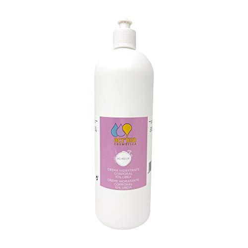 Crema Loción Hidratante para el Cuerpo con 10% de Urea - Rápida absorción - Alta Hidratación en Pieles Secas o Muy Secas - Apta para Pieles Delicadas y Sensibles - 1 litro