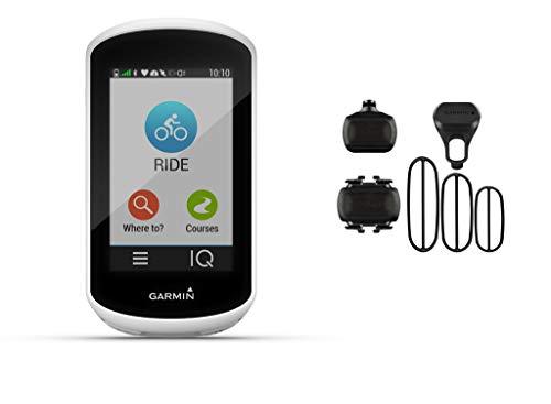 Garmin Edge Explore - GPS-Fahrradcomputer - Bundle inkl. Geschwindigkeits- und Trittfrequenzsensor