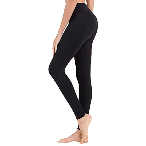 Gayhay High Waisted Leggings for Women - Soft Opaque Slim Tummy Control Christmas Printed Pants for Running Cycling Yoga - Reg & Plus Size (1 Pack,Black, Plus Size (US 12-24))