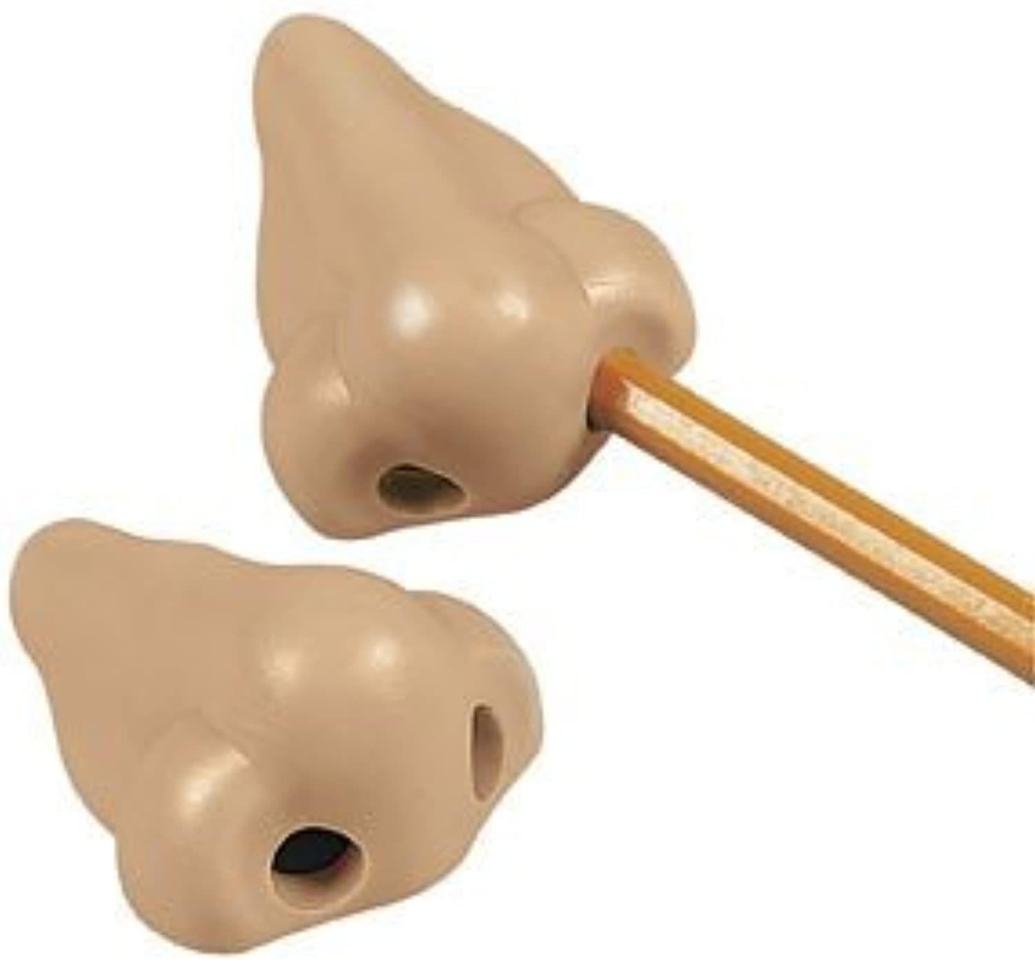 NOSE PENCIL SHARPENERS - 3 pack - great stocking stuffers by Oriental Trading Company B0141MPWD2 | Adoptieren