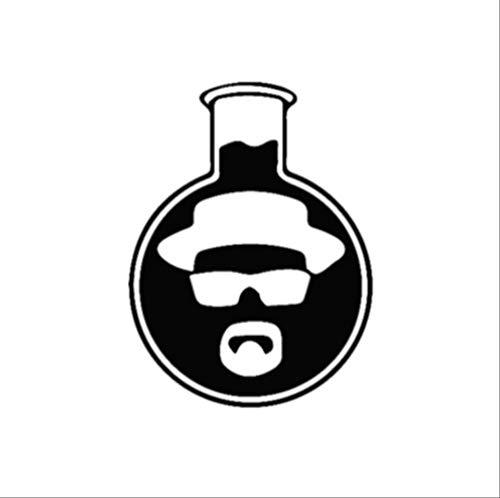 JSsiclsd 2 Stück, Autoaufkleber, Black Walters Becher Autoaufkleber Art Decor Aufkleber, Vinyl Autoaufkleber mit reflektierend und wasserdicht für Laptop, Autofenster, Motorrad
