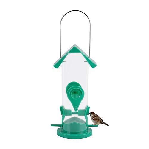 ARTOCT hangend vogelhuisje, voederdispenser voor wilde vogels transparant kunststof vogelhuisje