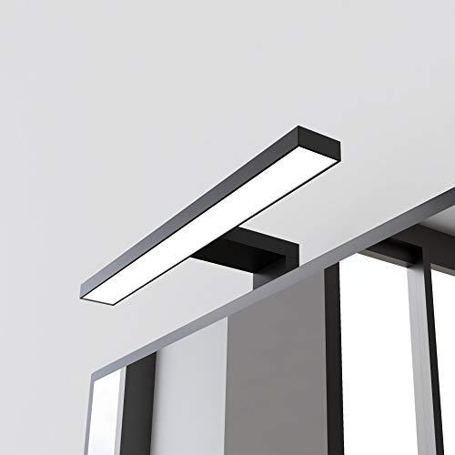STARBATH PLUS – Lámpara Led espejo baño Silvia ABS 30 cm, LED,...