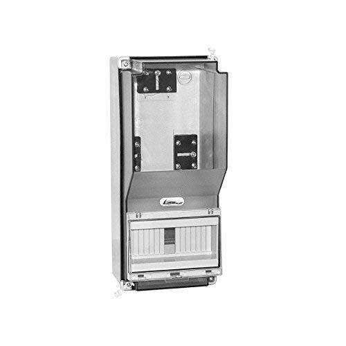 Zählergehäuse OZP-1 IP65 38.03 Zählerbrett Zählertafel für 1Phasige Zähler geeignet 8758