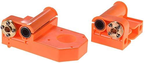 Terrarum 3D Printer X-Axis Einde Oranje Plastic Injectie Onderdelen met M8 Schroeven voor A8/P802 Prusa i3 Onderdelen
