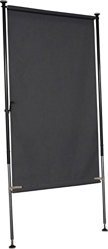 Angerer Balkon Sichtschutz Style anthrazit, 120 cm breit, 2316/262