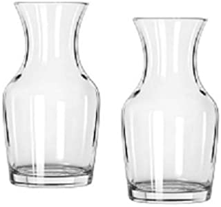 Libbey Single Serving Wine Carafe - 6.5 oz Pack of 2