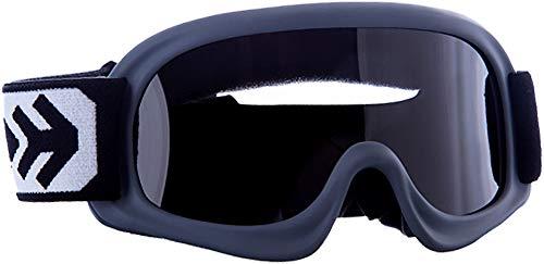 ARMOR Helmets AKC 49 Kinder Schutz-Brille, Motorrad-Helm, Titan