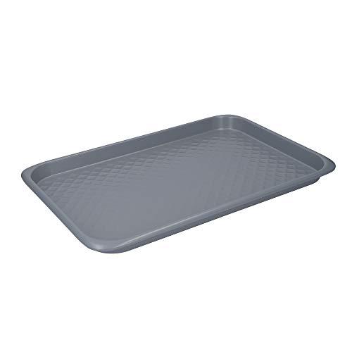 MasterClass Smart Ceramic Bandeja para Horno Grande de Acero al Carbono Antiadherente 40 x 27cm