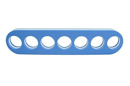 Leisis 0101028 Conector macarrones balsa, Azul, Talla Única