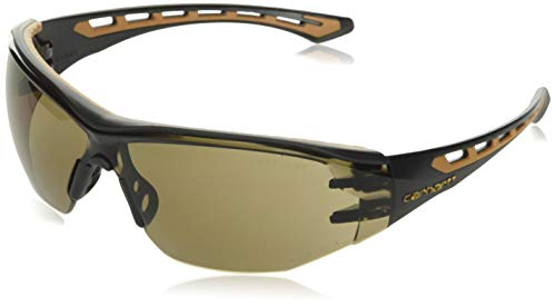Carhartt Unisex-Adult Easely Safety Glasses Sunglasses, Bronze, OFA