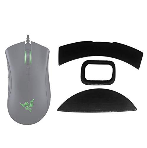 Replacement Mouse feet Pads Skates Compatible with Razer DeathAdder Elite Gaming Mouse Slipping Improvement