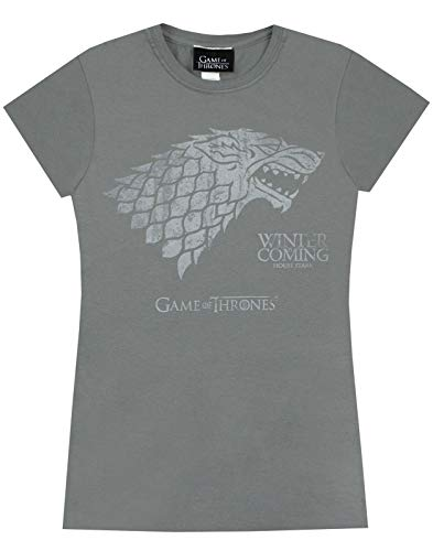 Game Of Thrones Stark Winter Is Coming Mujeres Camiseta