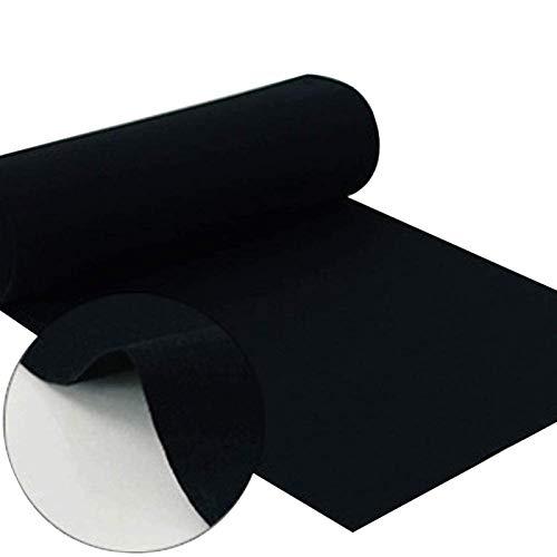 Alfombra Negra Corredor De Alfombra Negra Para Promedio De 2,2 Mm De Espesor Del Pasillo De Poliéster, Alfombras Desechables Para Interiores Y Exteriores, Decoracione(Size:1×30m(3×98ft),Color:negro)