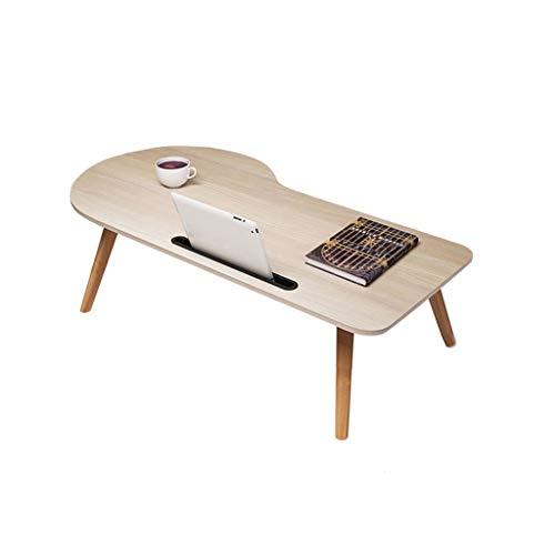 SLH Laptop-Schreibtischbett mit Studiotisch Einfacher Faltbarer Mini-Schreibtisch (Size : S)