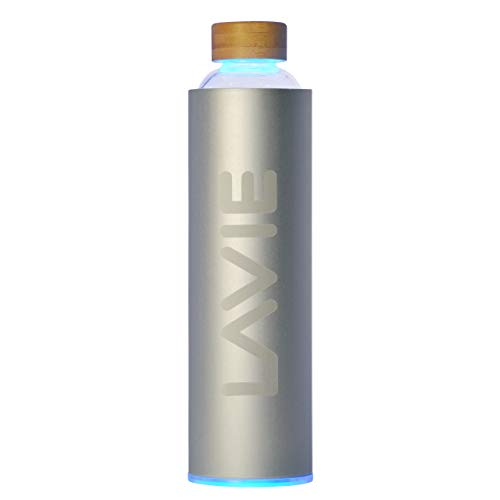 LaVie PURE es un Innovador Purificador de Agua con luz UVA que funciona Sin Consumibles. Transforme su Agua del Grifo en Agua Pura y Deliciosa en 15 minutos. Capacidad 1 L