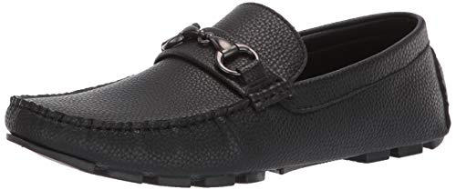 Unlisted by Kenneth Cole Men's Hope Lake Driving Style Loafer, Black, 10.5 M US