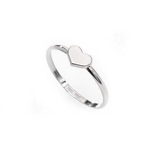 anello donna gioielli Amen Cuore misura 18 trendy cod. AHB-18