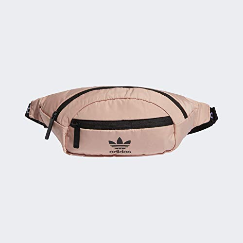 adidas Originals Unisex National Waist Pack, Dust Pink/Black, ONE SIZE