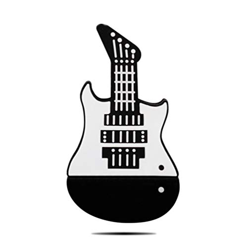 PenDrive Usb Flash Drive Disco USB Chiavette USB 2.0 Creatività Gel Di Silice Strumento Musicale Violino Chitarra Chiavetta USB Da 4 A 128 GB Alta Velocità Portatile (32GB,F)