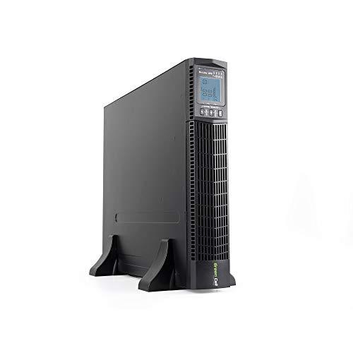 Green Cell® UPS USV Rack Mount Unterbrechungsfreie Stromversorgung 2000VA (1800W) mit Überspannungsschutz 230V Online 6X IEC320 C13-10A USB RS232