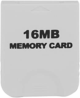 eForBuddy 16MB Memory Card for Nintendo Wii  任天堂 Wii 用16MB メモリーカード ホワイト