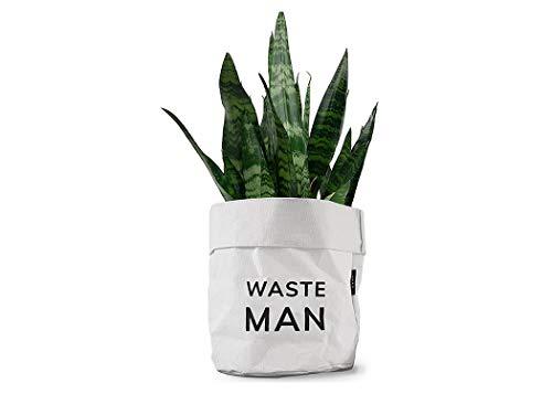 MOXON - Soporte de Lona para Plantas y Papelera de Escritorio con diseño Divertido