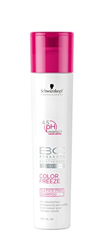 Schwarzkopf Bonacure Color Freeze Sulfatfreies Shampoo, 1er Pack, (1x 0,25 L)