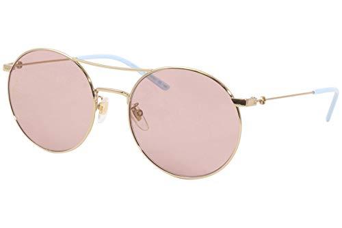 Gucci occhiale da sole GG0680S 004 Oro rosa taglia 56 mm Donna