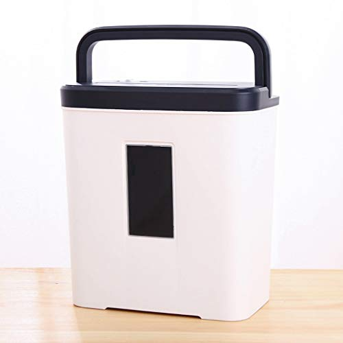 Great Deal! TUCY Portable Paper Shredder Office Mini Electric Shredder Automatic Paper Shredder Ligh...