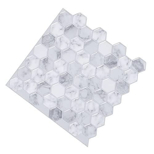 Garneck Adhesivos para Azulejos Adhesivos Autoadhesivos Adhesivos Adhesivos para El Suelo Azulejos 3D Papel Pintado de Grano Decoración de Salpicaduras para La Habitación de Los Niños