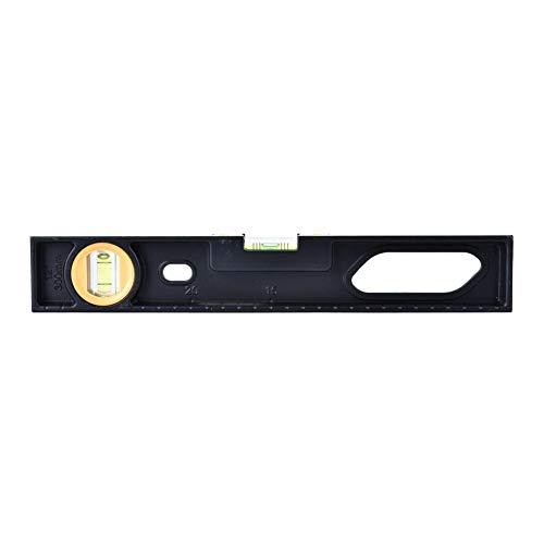 Dikte aluminiumlegering 2 waterpas liniaal meetinstrument voor verticale horizontale met magneet (30 cm) Non-Magnetic