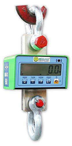 Druivenweegschaal, brug, professionele digitale dynamometer voor industriële ruimtes van 1500 kg tot 9000 kg, 6, Apple Groen, 1