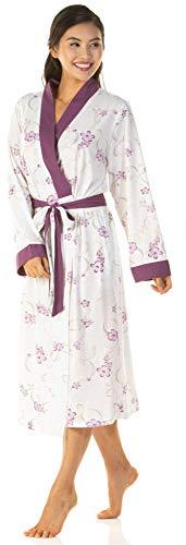 Undercover Lingerie Ltd - Robe de Chambre - Femme - Violet - 50-52