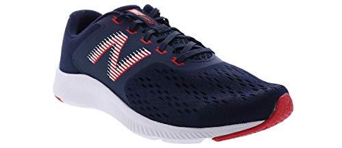 New Balance Men's DRFT V1 Pigment/Red Running Shoe 10 XW US