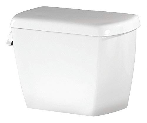 Gerber Avalanche 1.6 gpf Toilet Tank, Left Hand Trip Lever, White